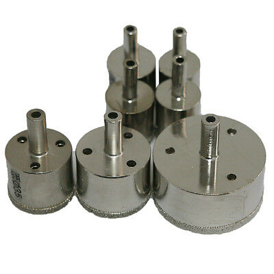 25/26/28/29/35/40/60mm Hole Saw Cutter Tile Ceramic Marble Glass Drill Bit Set