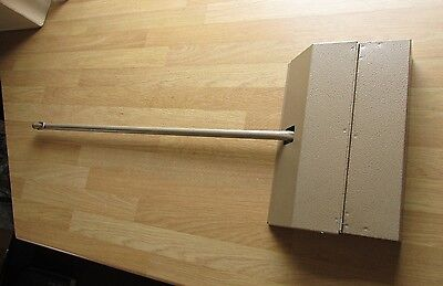 Metal Lobby Dustpan Pan Cleaning Supplies Bronze Workplace Catering