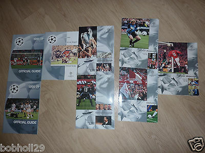 Champions League Official Guides/Magazines