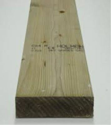 6x2 Sawn Treated C16 Kiln Dried Timber (47x150mm) 90m Deal - Free Delivery!!