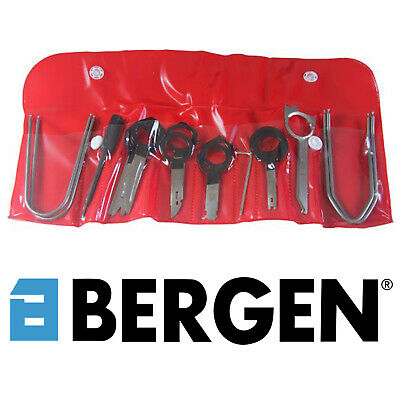 BERGEN 18 Piece Professional Car Audio Radio Stereo CD Removal Key Pins Set 6607