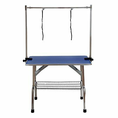 Dog Pet Adjustable Grooming Table Tables Examination Table For Pets Cat Groomers