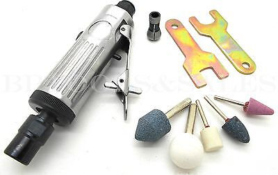 "Mini Air Die Grinder 1/4"" Straight Inline Die Grinder 1/8"" Rotary Air Compressor"