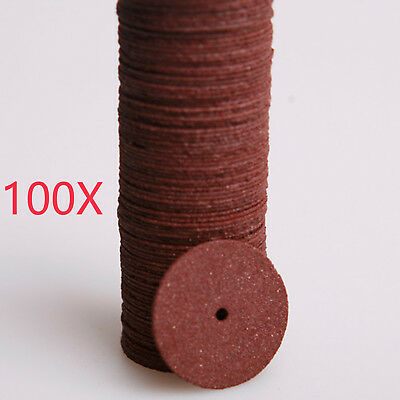 100Pcs Cut-off Wheel - Metal & Stainless Steel Reinforced Cutting Discs 20MM*2MM