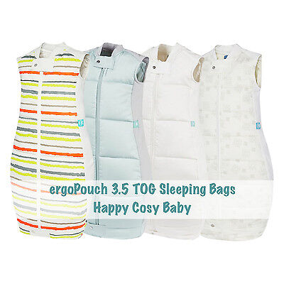 ergoPouch 3.5 TOG Winter Baby Sleeping Bag - 100% Organic