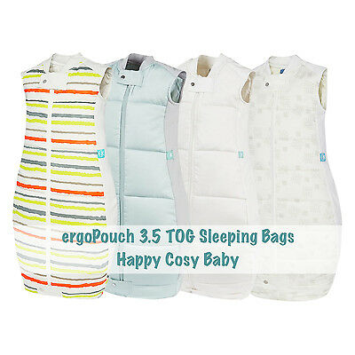 ergoPouch 3.5 TOG Winter Baby Toddler Sleeping Bag - 100% Organic