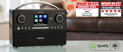 ROBERTS STREAM93I  DAB/DAB+/FM Wi-Fi INTERNET RADIO WITH MEDIA STREAMING * NEW *