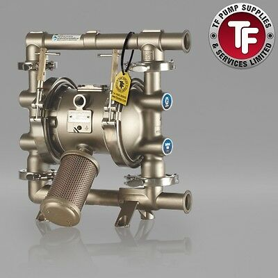 Graco SaniForce 1040 FDA Sanitary Air Diaphragm Pump ATEX FD1213| PTFE/PTFE
