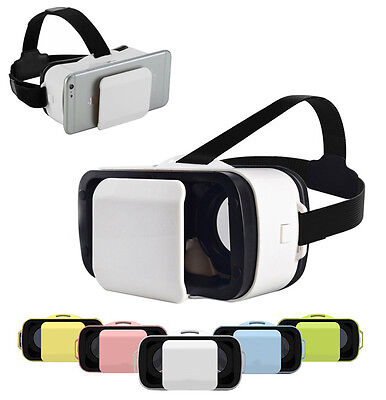 Mini Vr Box Occhiali Realta' Virtuale 3D Iphone Samsung Giochi Video Film 360°
