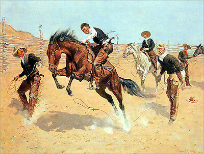 The Lost Dispatches  by Charles Schreyvogel    Giclee Canvas Print Repro