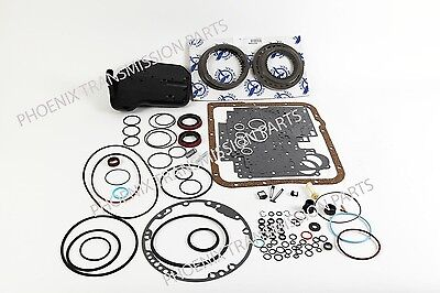 4L60E Transmission Rebuild Kit 1997-2003 GM Alto  Friction Set Deep Filter