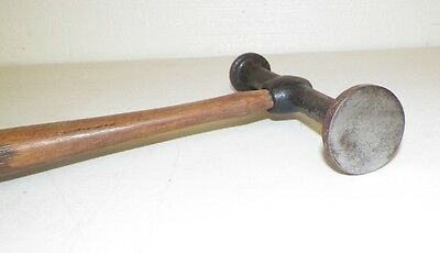 """Vintage Fairmont Auto-Body Flat Two-Sided Hammer Tool 12"""" Long"""