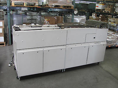 Pitny Bowes Y208 Duel Accumulator Folder with RAT-1AC for Flow Master