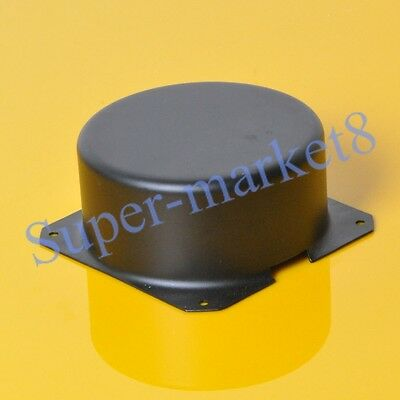 1pc 105x51mm Black Metal Shield Toroid Transformer Cover Protect Chassis Case