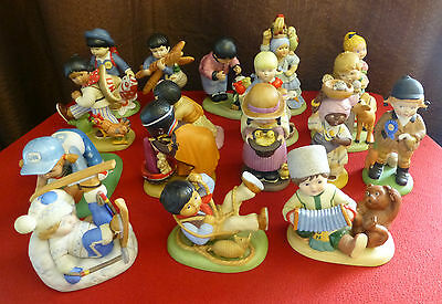 FRANKLIN MINT Porcelain UN Children Figurines (Individually Priced)
