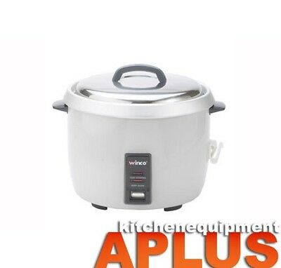 Winco Electric 60 Cups Rice Cooker Model: RC-P300