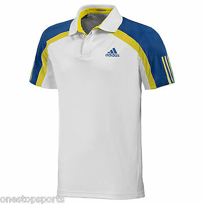 adidas Mens Barricade traditional tennis top. Sports top. Size Small.