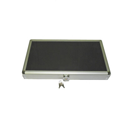14 x 8 Aluminum Display Case with Black Velvet Liner