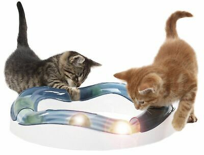 Catit Senses Speed Circuit Cat & Kitten Toy w/ Ball & Tunnels