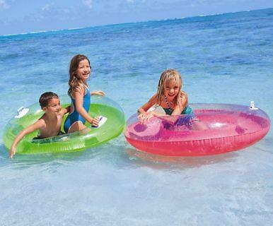 2 X Bestway Inflatable Luxury Fashion Pool Lounger Swimming Lilo Reclining Float