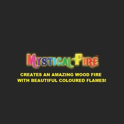 MYSTICAL FIRE 20 pkts - Magical Fire Colour Changing Flames Campfire Fathers Day