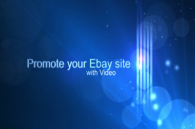 Promote your eBay products / store with video. 1000s of templates to choose from