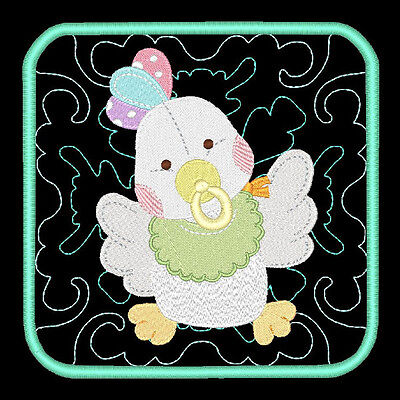 Baby Buddies 2 - 60 Machine Embroidery Designs (Azeb)