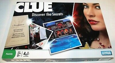 Clue Parker Brothers 2008 Detective Game 100% Complete Discover The Secrets