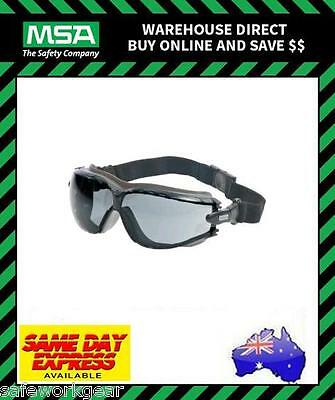 MSA ALTIMETER SMOKE Spoggle Eyewear Safety Goggles Protection Anti Fog Specs