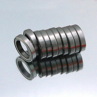 10pcs 6700ZZ Deep Groove Metal Double Shielded Ball Bearing (10mm*15mm*4mm) New