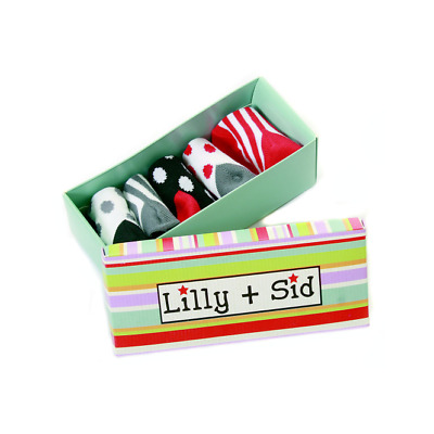 Lilly and Sid Unisex Baby Socks In A Box