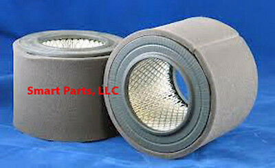 "Replaces: Quincy Part# 110377E200,  ""Box of 2""  Air Filter"