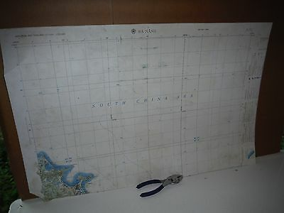 vietnam era US Army Corps of Engineers Topographic Map Da Nang mosaic 1965 fair