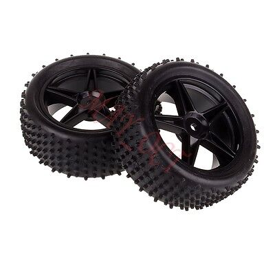 Front Wheel Complete Tyre Tires 06010 For HSP 1/10 94107 Off Road Buggy RC Car