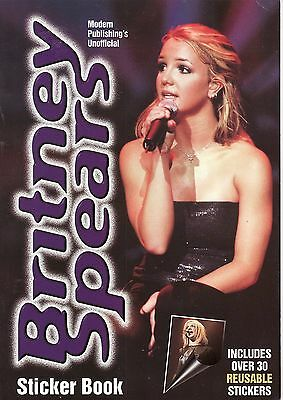 Britney Spears Sticker Book