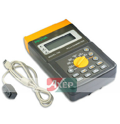PROVA 700 Milli-Ohmmeter,100uA - 5A Test Current *NEW PROVA-700 Express Delivery
