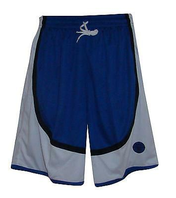 Basketball Shorts / By Starting 5 / blue/black/white (Box 20) FREE P & P