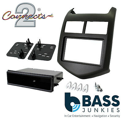 Chevrolet Aveo 2011 On Car Stereo Radio Double Din Fascia Facia Panel CT23CV07