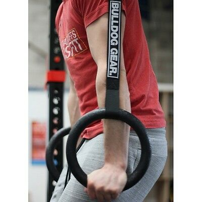 BULLDOG GEAR ABC GYMNASTIC RINGS CrossTraining OLYMPIC FITNESS