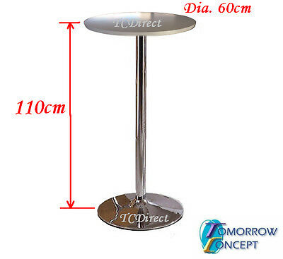 Indoor White Color Round 60cm, Height 110cm Cafe Restaurant Bar Table (X054)