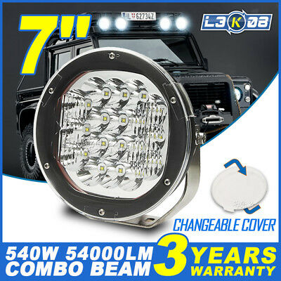 7inch 270W CREE LED Driving Light Headlight Bar Work Spot Combo Offroad 4WD ATV