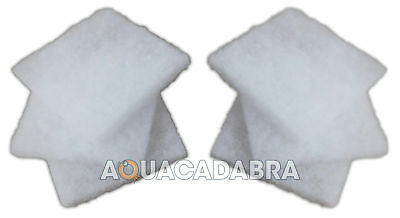 BLAGDON AFFINITY 6x WINDOW CLEANING PADS REPLACEMENT OCTAGON HALF MOON FISH POND