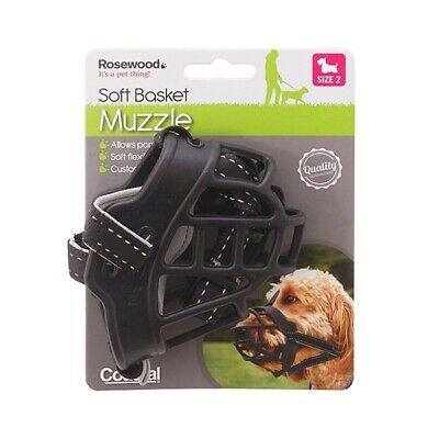 Ancol Trixie Baskerville Muzzle Strong Ultra Cage Friendly Basket Muzzles