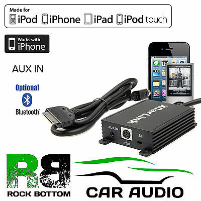 For Nissan Murano 2005> Car Radio AUX IN iPod iPhone Interface Cable & Bluetooth