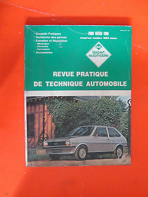 Revue Pratique De Technique Automobile / Ford Fiesta 1300 / Lea / 1986 / B6E6
