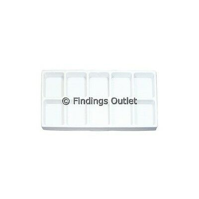 10 Compartment Durable Plastic Tray Liner (Short)