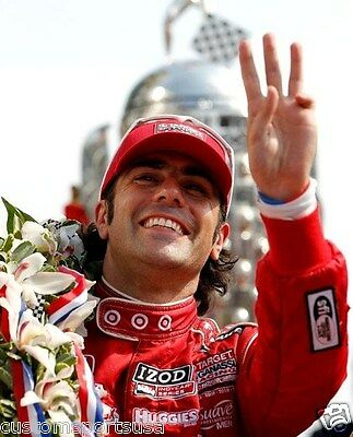 DARIO FRANCHITTI Indy 500 Car Unsigned 8 x 10 Photo