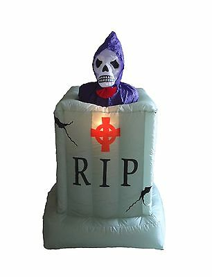 Animated halloween inflatable skeleton ghost tombstone for Animated floating ghost decoration