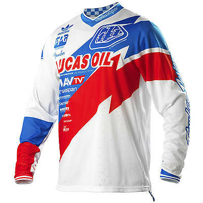 Troy Lee Designs NEW TLD Mx Gear GP Air Astro Team White Motocross Jersey