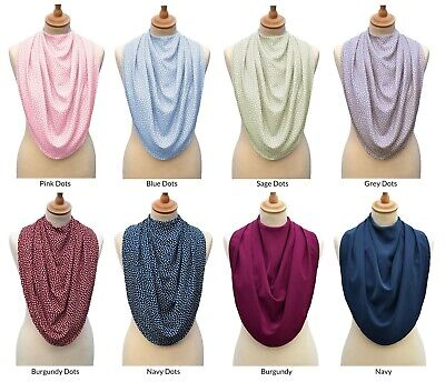 Care Designs - Pashmina Scarf Style Clothes Protector & Adult Bib by Bibetta
